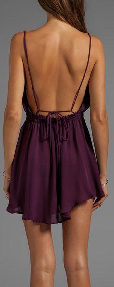 Backless Dress #Inspiration