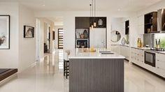 Kitchen as displayed at Woodlea Estate, Rockbank