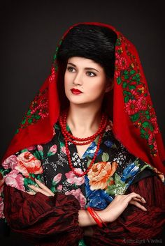 Photo: Anastasya Vorona  MUAH: Vera Melkumova  Models: Таисия ,Дарья , Анна Russian Fashion, Russian Style, Style Russe, Imperial Fashion, Local Women, Folk Embroidery, Russian Models, Modern Outfits, Background Patterns