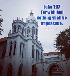 Luke 1:37 For with God nothing shall be impossible. #love #instagood #tbt #beautiful #photooftheday #justgoshot #peoplecreatives #quotesoftheday #quotes #alkitab #bible #biblequotes #bibleverse #l4l #instacool #positive #positivevibes  #positivethinking #jesus #motivasi #motivationalquotes #motivation #inspiration #inspiring #inspirasi #inspirationalquotes  #bestoftheday  #pinterest #IFTTT #IFTTT