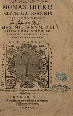 The second edition of John Dee's Monas hieroglyphica, 1590.
