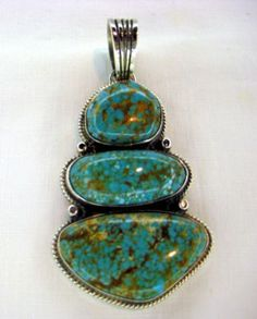 Tommy Jackson Sterling Silver Pendant.   #nativeamericanjewelry    #turquoisejewelry http://www.leotasindianart.com/