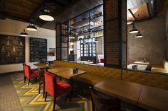 Pasta Basta Restaurant by Soboleva_Storozhuk Design