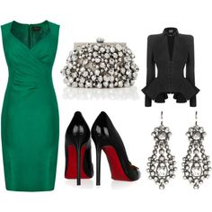 Green... Such a fabulous color for every occasion!