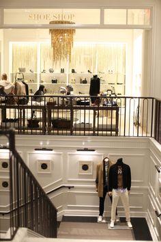 Inside the Club Monaco flagship store
