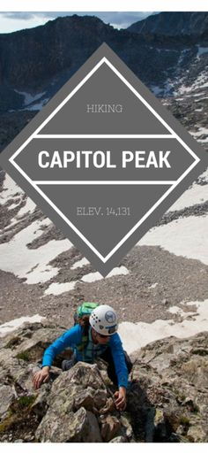 Capitol Peak is notorious for being the most dangerous 14er in Colorado, thanks to the infamous Knife Edge ridge. This is my recap of the climb--complete with photos that will leave just a few butterflies in your stomach!