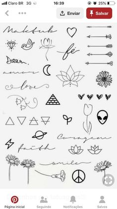 Art Discover Excellent tiny tattoos ideas are offered on our website. Check it out and you wont be sorry you did. Kritzelei Tattoo Doodle Tattoo Poke Tattoo Tattoo Drawings Easy Drawings Tattoo Outline Mini Tattoos Little Tattoos Cute Tattoos Kritzelei Tattoo, Doodle Tattoo, Poke Tattoo, Tattoo Drawings, Tattoo Outline, Tattoo Sketches, Tattoo Quotes, Dainty Tattoos, Symbolic Tattoos