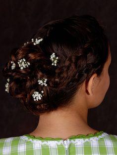2018 Neue Beliebte Kinder Zwei Blume Stirnband Kopfschmuck Mädchen Mehrfarbigen Haar Zubehör Blume Haar Band Weibliche Pop Geschenk Mutter & Kinder