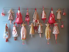 just love this Tilda wall, better get busy with the sewing machine!
