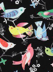 Alexander Henry  YEAH! Bird fabric :)