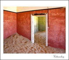 Devoured By The Desert - Kolmanskop, Karas - Namibia