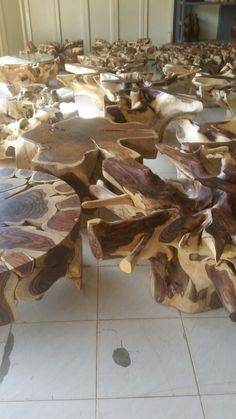 Stock  in  root  Furniture  /  vos timber agency - Holland