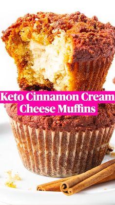 Keto Dessert Easy, Low Carb Desserts, Low Carb Recipes, Real Food Recipes, Baking Recipes, Comida Keto, Keto Cake, Low Carb Breakfast, Keto Snacks