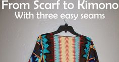 for this project you will need: -5 minutes of your time -one large scarf, (if it is a skinny long scarf it will hug your body tightly i...