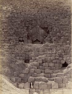 Entrance to the Great Pyramid, Giza