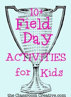 Run, jump, or just skip over to take a look at this round up of field day activities for the end of the year!