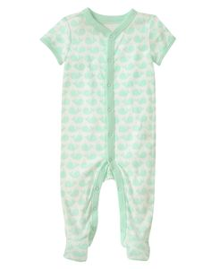 Whale Footed One-Piece at Gymboree Collection Name: Newborn Essentials (2015)