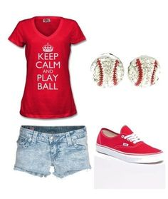 Women's baseball gear