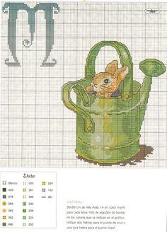 Beatrix Potter ABCs  M  Gallery.ru / Фото #7 - 16 - KIM-3