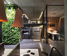 Office and showroom of architectural workshop Sergey Makhno, photo: Andrey Avdeenko