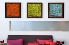 www.DNA11.com  Awesome Idea Get a fingerprint of your children and display it as art!