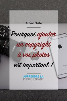 In this article, I tell you about the importance of putting a copyright on your p . - photos - In this article, I& talking about the importance of copyrighting your photos.