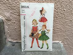 50's Simplicity 3614 Pattern  Child's Blouse Top by ElkHugsVintage