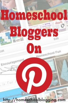Come Link Up with US! This is a brand-new Pinterest Link-Up just for Homeschool Bloggers on Pinterest #hsbloggers