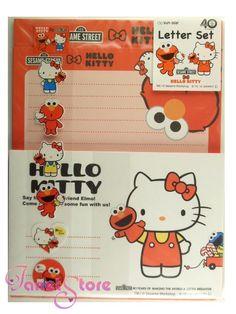 Hello Kitty Elmo Letter Set