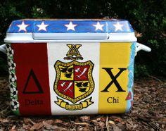 Delta Chi Fraternity DX Crest Cooler Formal W&M