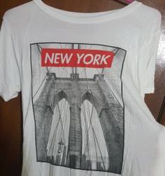 T-shirt New York Brooklyn Bridge