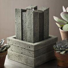 Campania International, Inc Garden Terrace Cast Stone Fountain Finish: Pietra Vecchia