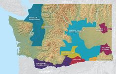 Washington State Wine Regions