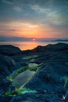 Sunset view from Portnadoran, Arisaig, Scotland. Beautiful Sites, Beautiful World, Beautiful Places, Scotland Holidays, Best Sunset, City Landscape, Nature Scenes, Science And Nature, Nature Pictures