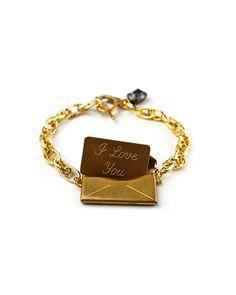Vintage Love Letter Bracelet - JewelMint