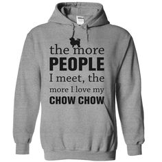 THE MORE PEOPLE I MEET, THE MORE I LOVE MY Chow Chow  #chowchow #dog #ilovemydogs #chowpuppies #chowchowlovers