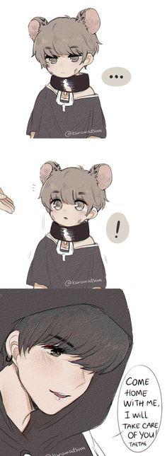 Taekook animation