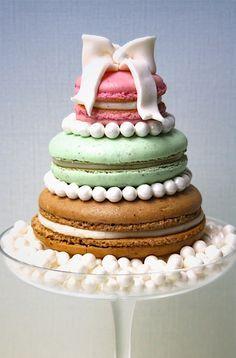 Oversized Macaron Cake