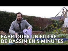 Fabriquer son filtre de bassin pour pas cher et en 5 minutes - YouTube