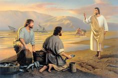 Follow me, and I will make you fishers of men. And they straightway left their nets, and followed him. ~ Matthew 4:18-20The call to Simon Peter and Andrew to follow the Savior as fishers of men echoes down through the centuries and applies to us...