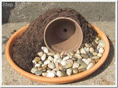 Image result for how to make a fairy garden house