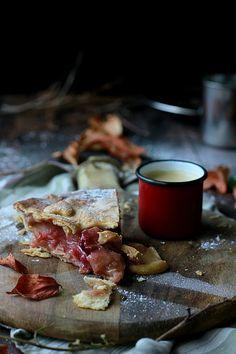 LA COCINA DE BABEL: Tarta de manzanas caramelizadas {había que regresar}