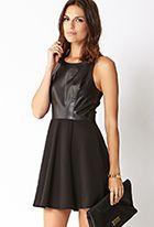 Modernist Fit & Flare Dress