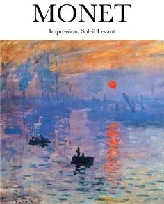 Monet - Impression, Soleil Levant Mini Art Print by ArtilyShop - Without Stand - x Room Posters, Poster Wall, Poster Prints, Dorm Art, Plakat Design, Virtual Art, Picture Wall, Wall Collage, Wall Prints