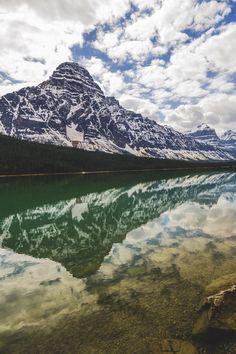 Waterfowl Lake, Banff National Park | Panda Leowalski