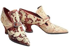 Yantorny Shoes - circa 1915 - by Pietro Yantorny (Italian, 1874-1936) - Made for Rita de Acosta Lydig - @~ Mlle