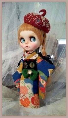 Custom Blythe (used) Buy her here: #blythe #blythedolls #kawaii #cute #rinkya #japan #collectibles #neoblythe #customblythe