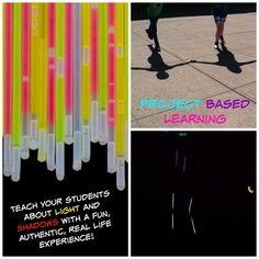 Light and Shadows Project Based Learning Fun! An authentic way to promote inquiry in your upper elementary classroom.