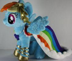 Rainbow Dash gala plush.