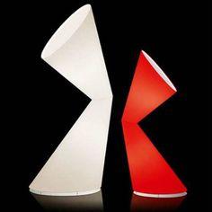 La La Lamp, floor lamp with two conic design by Helen Konturis 1